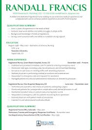Resumes Nurse Resume Examples Without Experience Educator Curriculum