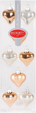 Magic By Inge Christbaumschmuck Herz Magic Lovely Apricot 16 Teilig Auf Rechnung Bestellen Quellede