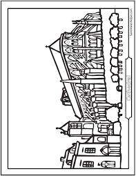 Small Picture Country Church Coloring Pages Coloring Coloring Pages