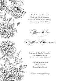 Formal Invitation Template Fre - staruptalent.com -
