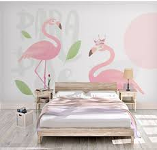Bacaz 8D Tropical Pink Flamingo Bird 3d ...