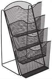 steel mesh counter rack