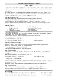 Chronological Resume For Canada Joblers How To Write Canadian
