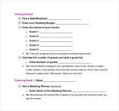 wedding list spreadsheet 17 wedding guest list templates pdf word excel