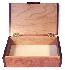 decorative small keepsake box open view handmade amboyna burl small wood box with bois de