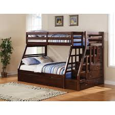 Bunk Beds Double And Single Single Over Single Or Double Bunk Bed Frame  Only Mattress Depot