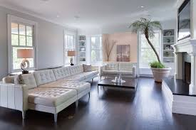 flooring ideas living room. 3 tags contemporary living room with built-in bookshelf, shaw hand scraped old city cove hickory flooring ideas h