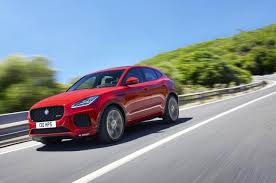 2018 jaguar e pace. modren pace to that end the epace also comes standard with allwheel drive the  246hp model has a system splits power between front and rear axles uses  with 2018 jaguar e pace