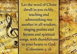teach and admonish