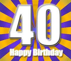 Glückwünsche Zum 40 Geburtstag Kostenlos