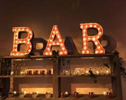 lighting letters. bar sign u003eu003e light up letters custom restaurants businesses event lighting l