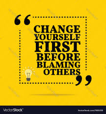 Quote For Change Inspirational Motivational Quote Change Yourself