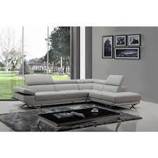 divani casa quebec modern light grey