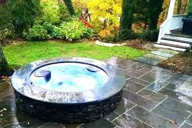 in ground jacuzzi. In Ground Jacuzzi Hot Tub Above Slamjam Me Within Decorations 9 U