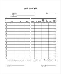 Payroll Sheet Samples 11 Payroll Sheet Templates Free Sample Example Format