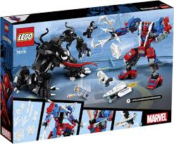 LEGO® <b>MARVEL SUPER HEROES 76115</b> Spider Mech Vs. Venom ...