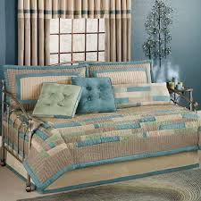 daybed bedding sets design ideas comforter blue beige