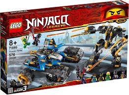 LEGO Ninjago - Caza Terrestre del Trueno (71699) | Lego ninjago, Lego,  History of lego