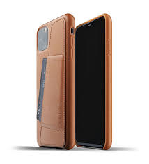 Tan Brown iPhone 11 Pro Max Wallet Case | Full Leather