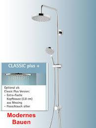 Schulte Duschmaster Rain Iii Modern Plus Mit Umsteller Kopfbrause Rund D969272