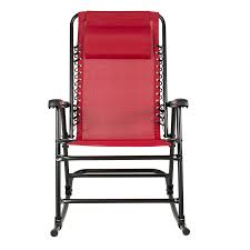 folding rocking chair foldable rocker outdoor patio furniture red office s wood perth pro gaming bar