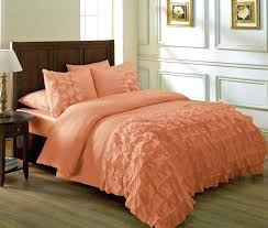 peach colored bedding solid color comforter sets medium size of duvet cover with blue trim peach peach colored bedding