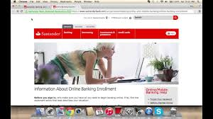 Santander Online Banking Login   How to Access your Account - YouTube