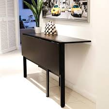 table with folding sides dining room decoration using folding square black wood kitchen table with folding table with folding sides fold down round