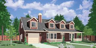 1 1 2 story house plans. 10107 Farmhouse Plans, 1.5 Story House County Master On The 1 2 Plans