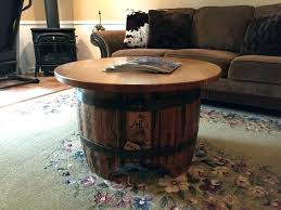 furniture made from barrels. Wooden Barrel Furniture Coffee Table E Designs Stave End Made From Barrels C