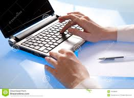 data input data input stock image image of hand using office 15006883