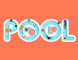 Pool Word Vector Of Summer Feel Design With The Word Pool Vector Free Download