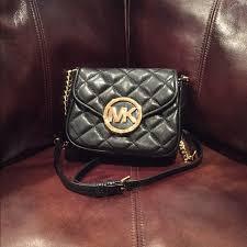 48% off MICHAEL Michael Kors Handbags - Michael kors fulton small ... & Michael kors fulton small quilted crossbody Adamdwight.com