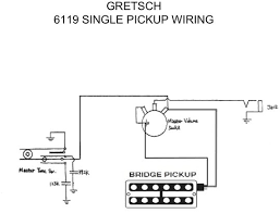 vintage 6119 single pickup wiring diagram vintage gretsch thank you everybody for your help and input on this project