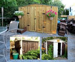 picture of upgrade an old metal shed exterior