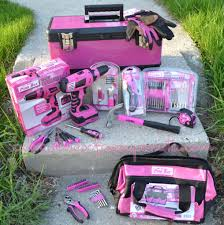 pink tool set. i have lots of pink tool sets - lol just need the drill. set