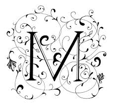 fancy letter m fancy letter m decorated letter by peggy markham letters pinterest