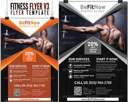 Free Fitness Flyer Psd | Posters