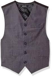 Amazon Com Van Heusen Boys Big Two Tone Vest Light Grey