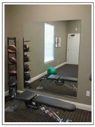 diy home gym mirror weights go home