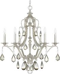 capital lighting 4186as pc blakely antique silver chandelier light loading zoom