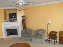 tan color paintA Shade of Yellow Tan Paint on Our Living Room Walls
