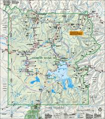 map of yellowstone national park  travelsfinderscom ®