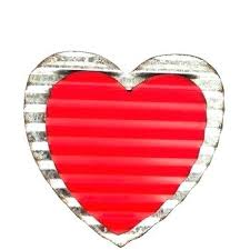 metal heart wall decor hearts corrugated large flower  on red metal heart wall art with metal heart wall decor large art brilliant hearts best with flower