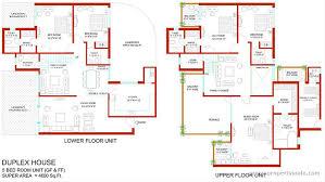 4 Bedroom Duplex Floor Plans  Homeca4 Bedroom Duplex Floor Plans