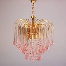 teardrop crystal chandelier