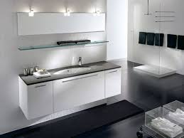 double sink vanity and brown wooden floating also trough bathroom with makeup top