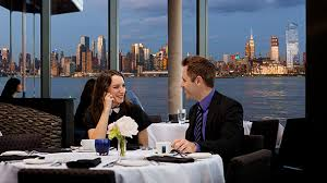Weehawken Waterfront Seafood Restaurant Dining With A Ny