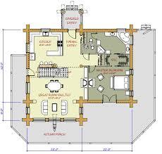 medium log cabin plans 12