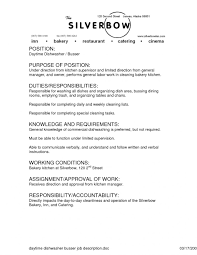 Bar Manager Resume Sample Template Job Description Examples
